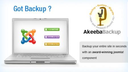 Copias de Seguridad en Joomla con Akeeba Backup