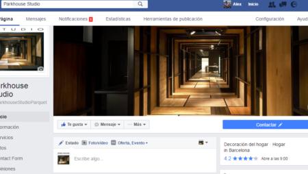 perfil de facebook parkhouse