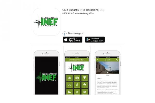 Club Esportiu INEF Barcelona APP